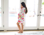 Watercolor Bloom Robe