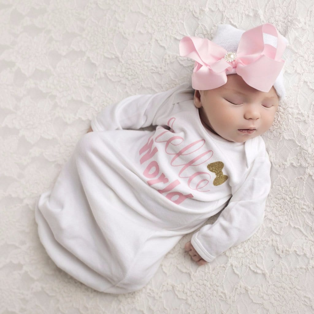 Gown Layette Newborn Hospital Take Home Outfit Baby Shower ...