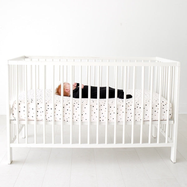 Jamie Polka Dot Crib Sheet