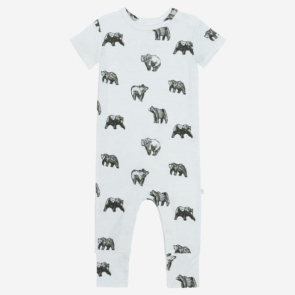 Kodiak short sleeve romper