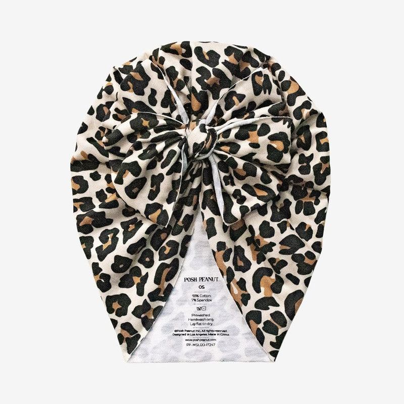 Lana Leopard Tan Molly Turban