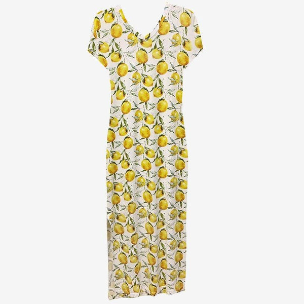 Lemon Mommy Maxi Dress