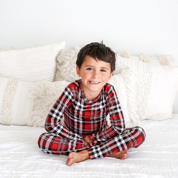 Noah Plaid Pajamas - FINAL SALE