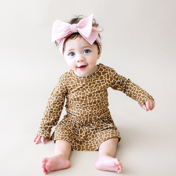 Baby on Billy Long Sleeve Twirl Skirt Bodysuit