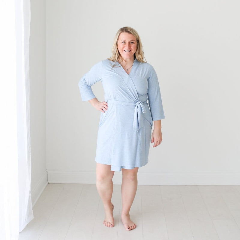 Blue Heather Robe