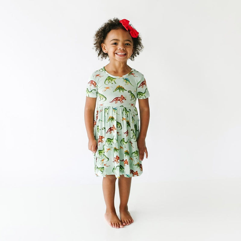 Buddy Short Sleeve Twirl Dress