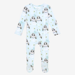 Buster footie snap one piece