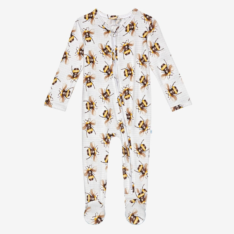Buzz Footie Zippered One Piece