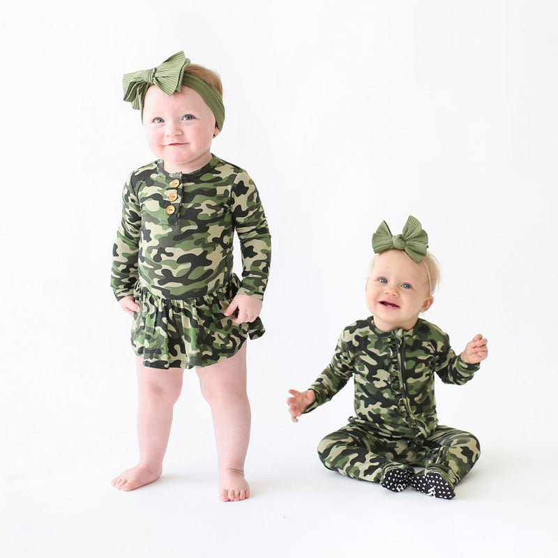 Babies with matching Cadet collection