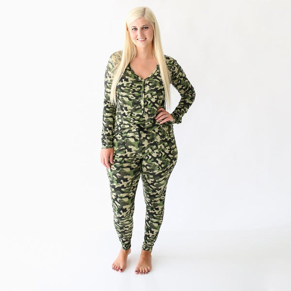 Mommy on Cadet Women's Long Sleeve Loungewear