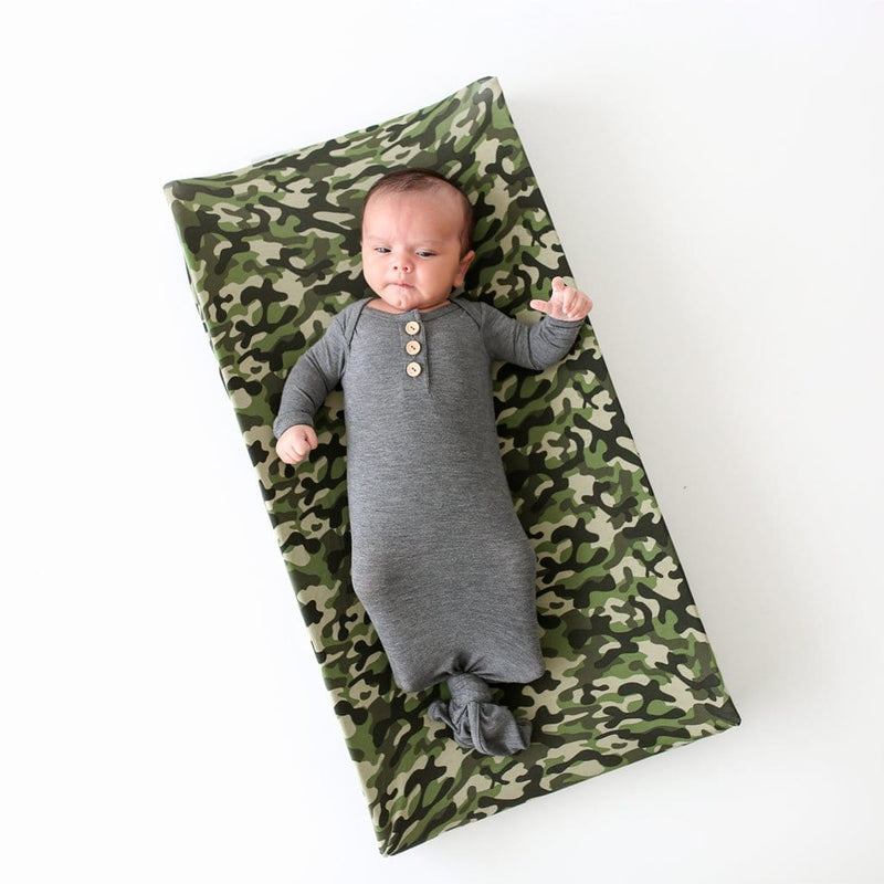 Baby lying on Cadet Pad Cover