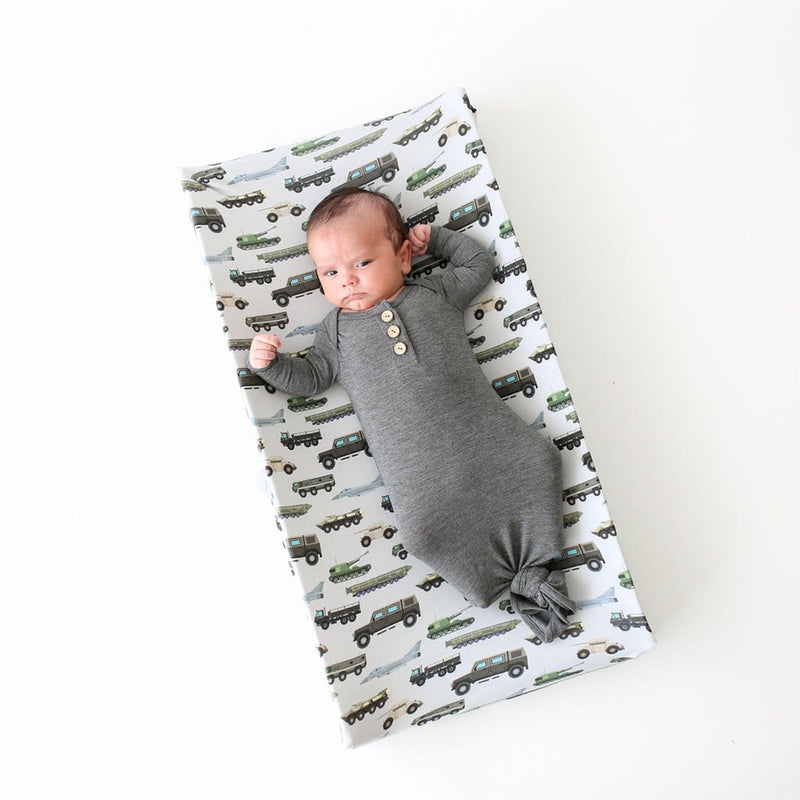 Baby lying on Cash Pad Cover