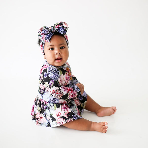 Baby on Chelsea Lulu Headwrap