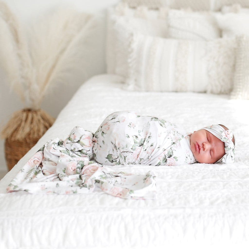 Delilah Swaddle Headband Set