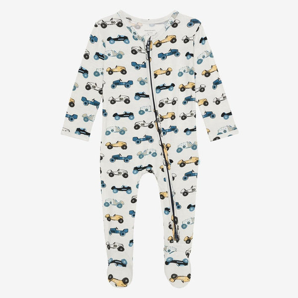 Enzo Footie Zippered One Piece