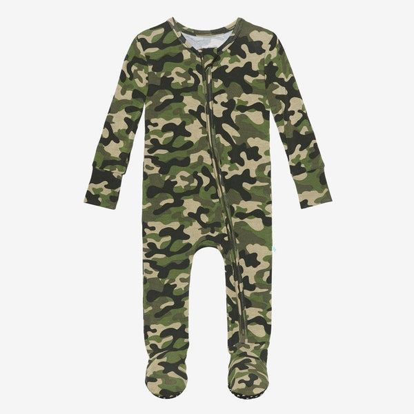 Cadet Footie Zippered One Piece