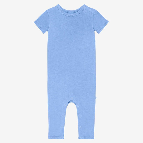 Front of granada sky short sleeve romper