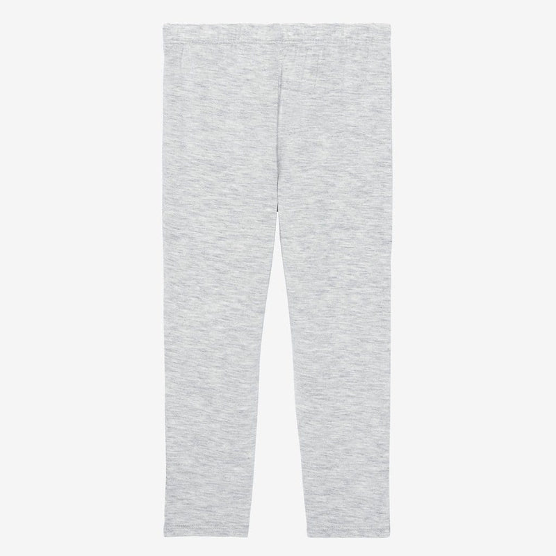 Athletic Gray Heather Short Sleeve Henley Pajamas