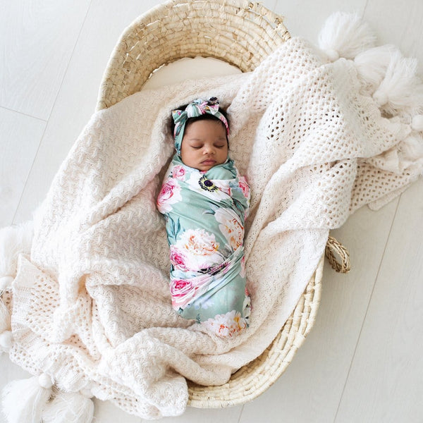 Jolie Swaddle Headband Set
