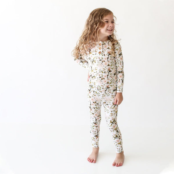 Katherine Long Sleeve Henley Pajamas