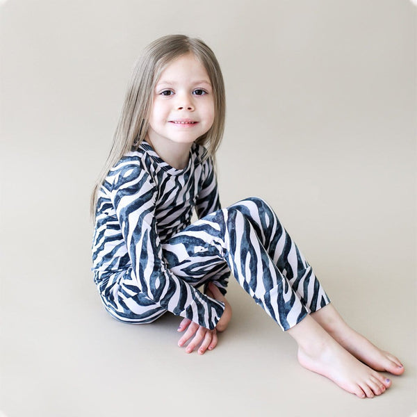 Toddler wearing Koko Long Sleeve Pajamas