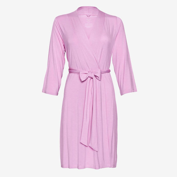 Front of lilac robe