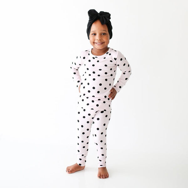 Toddler wearing Roubina Long Sleeve Pajamas