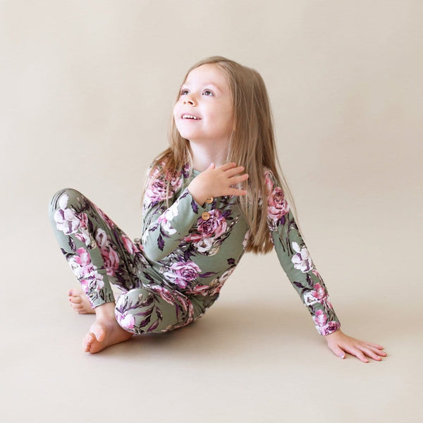 Seraphine Long Sleeve Henley Pajamas