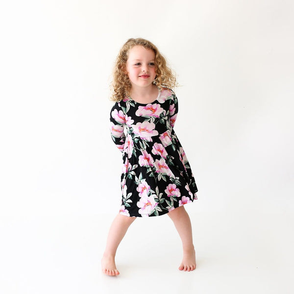 Toddler on Tenni Long Sleeve Twirl Dress