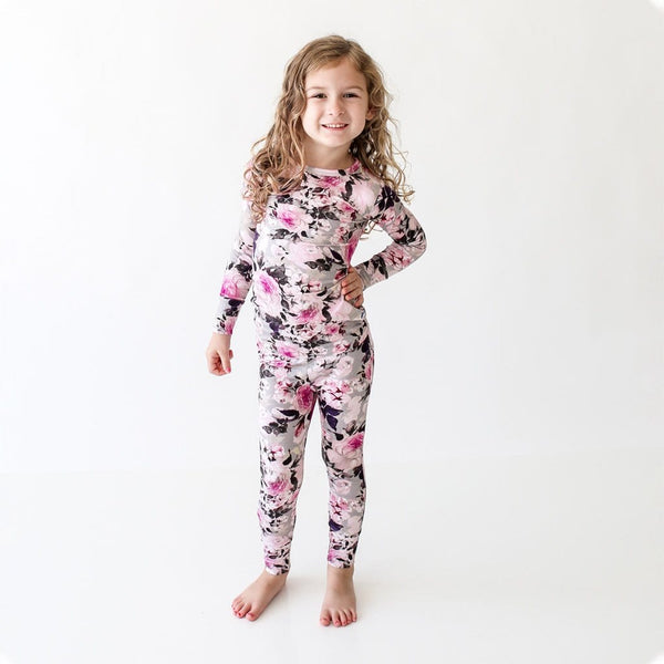 Toddler wearing Tessa Long Sleeve Pajamas
