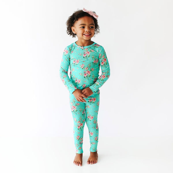 Theresa Long Sleeve Pajamas