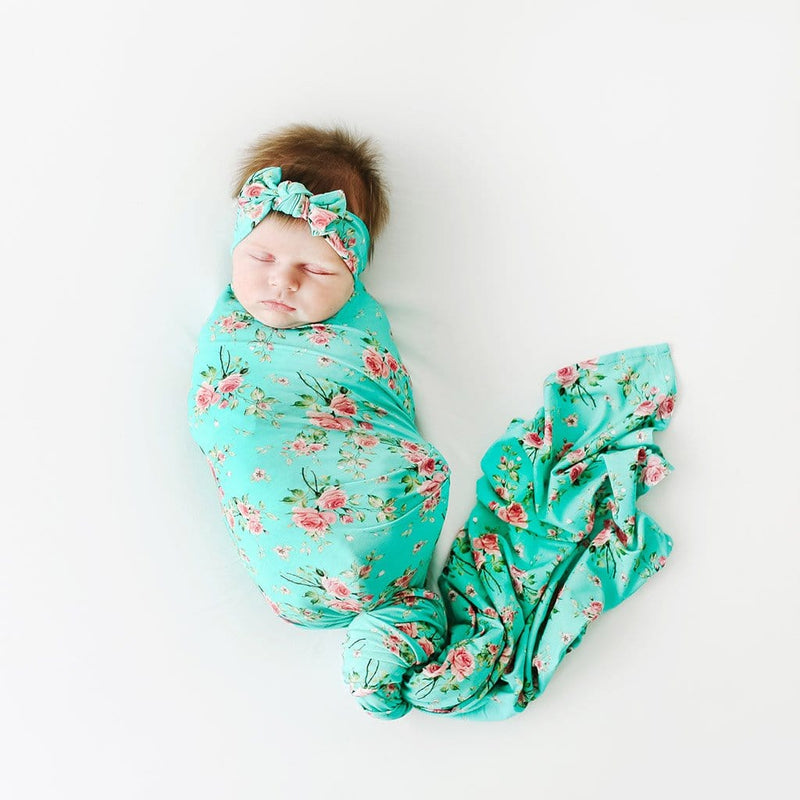 Theresa Swaddle Headband Set