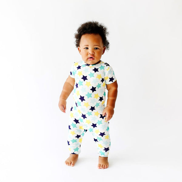 Baby on Tommy Short Sleeve Romper