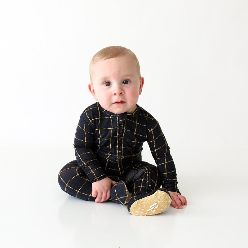 Baby on Tucker Footie Zippered One Piece