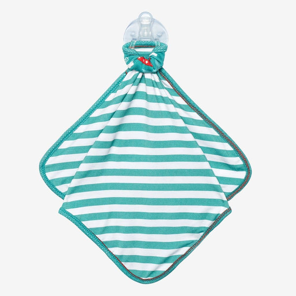 Sebastian & Teal Stripe Lovey