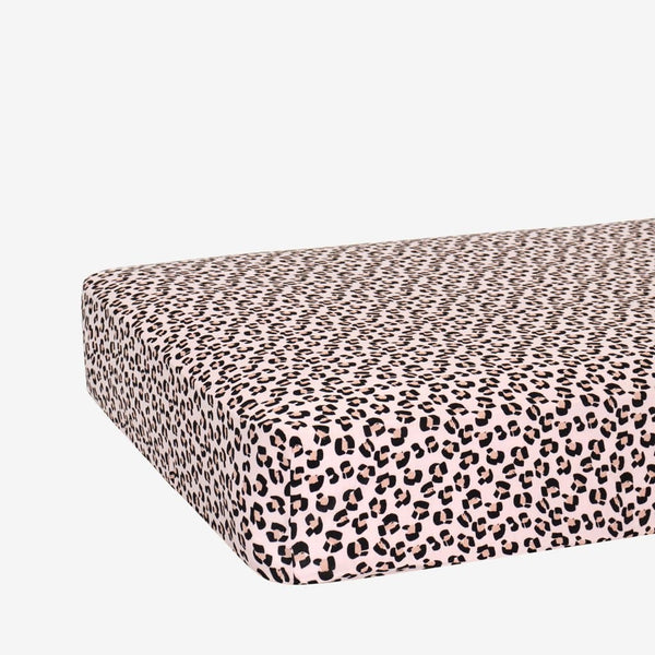 Samara Crib Sheet with jaguar pattern