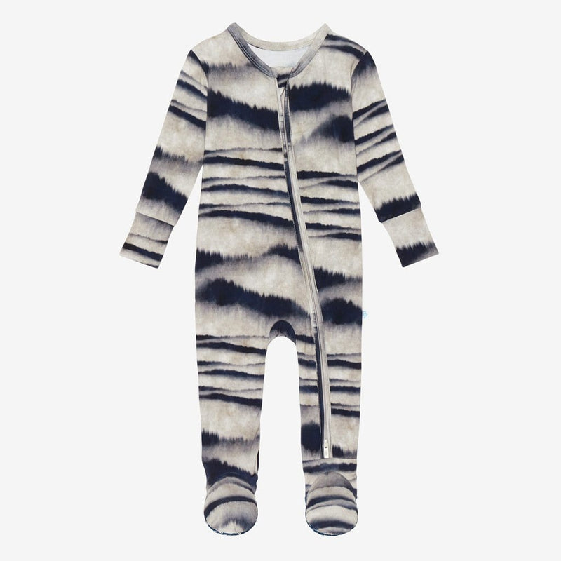 Rowan Footie Zippered One Piece