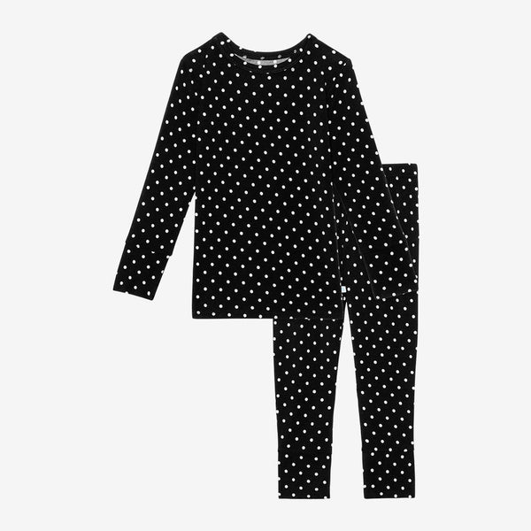 Lilly Long Sleeve Pajamas with polka dots pattern