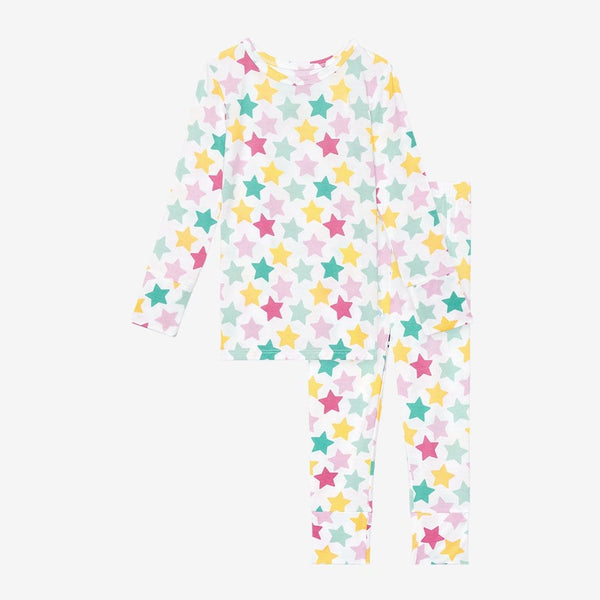 Crissy Long Sleeve Pajamas with star pattern