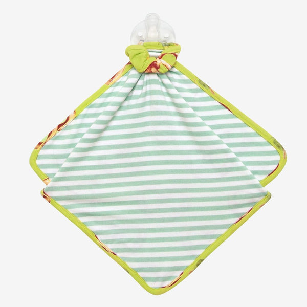 Pretzel & Green Stripe Lovey Back