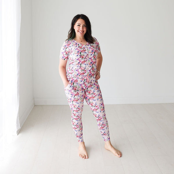 Mommy in Vivienne Women's Short Sleeve Loungewear