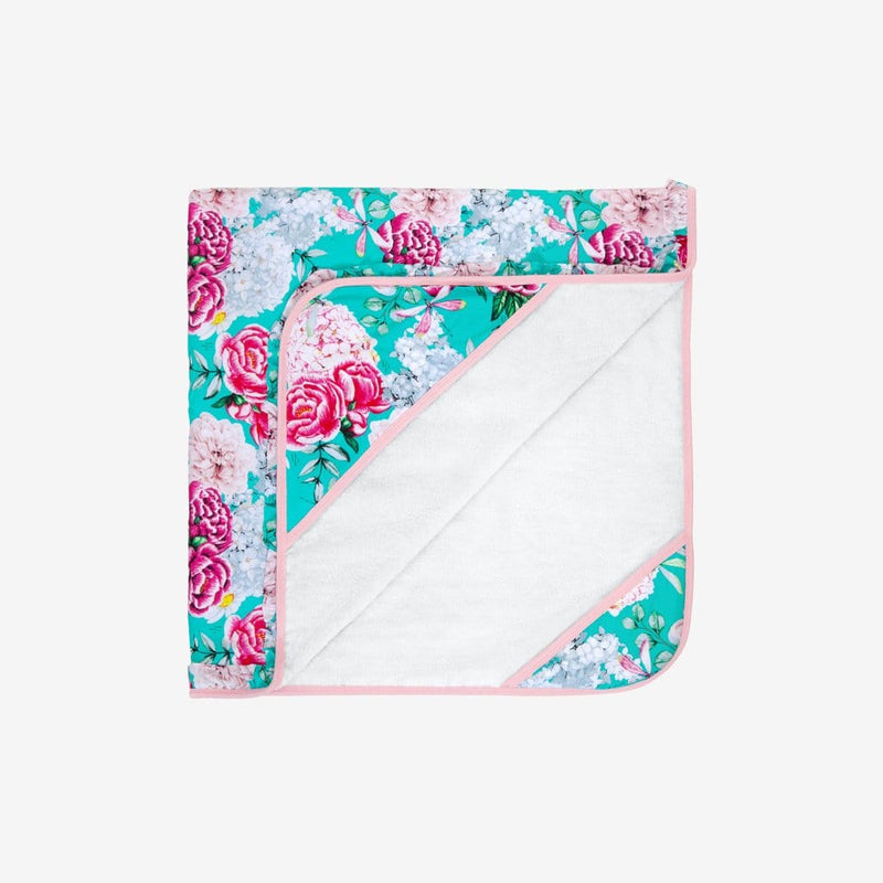 Folded Eloise Ruffled Hooded Towel