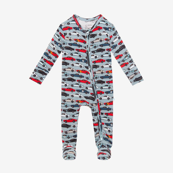 Miles Footie Zippered One Piece