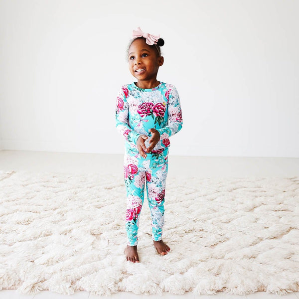 Toddler wearing Eloise Long Sleeve Pajamas