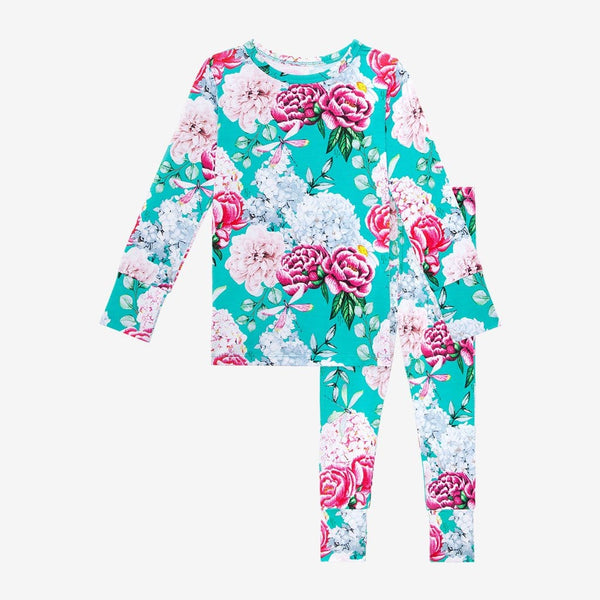 Floral Eloise Long Sleeve Pajamas