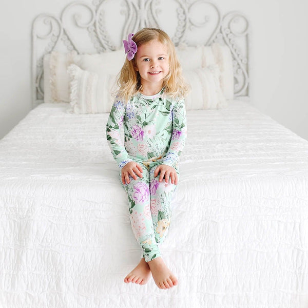 Toddler on Erin Long Sleeve Pajamas