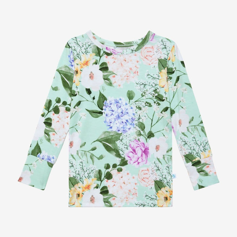 Floral Erin Long Sleeve Tops
