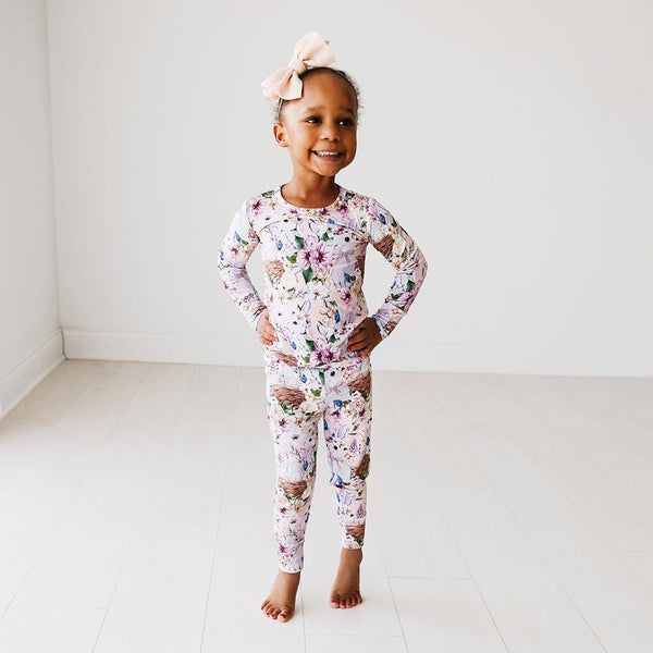 Toddler on Hazel Long Sleeve Pajamas
