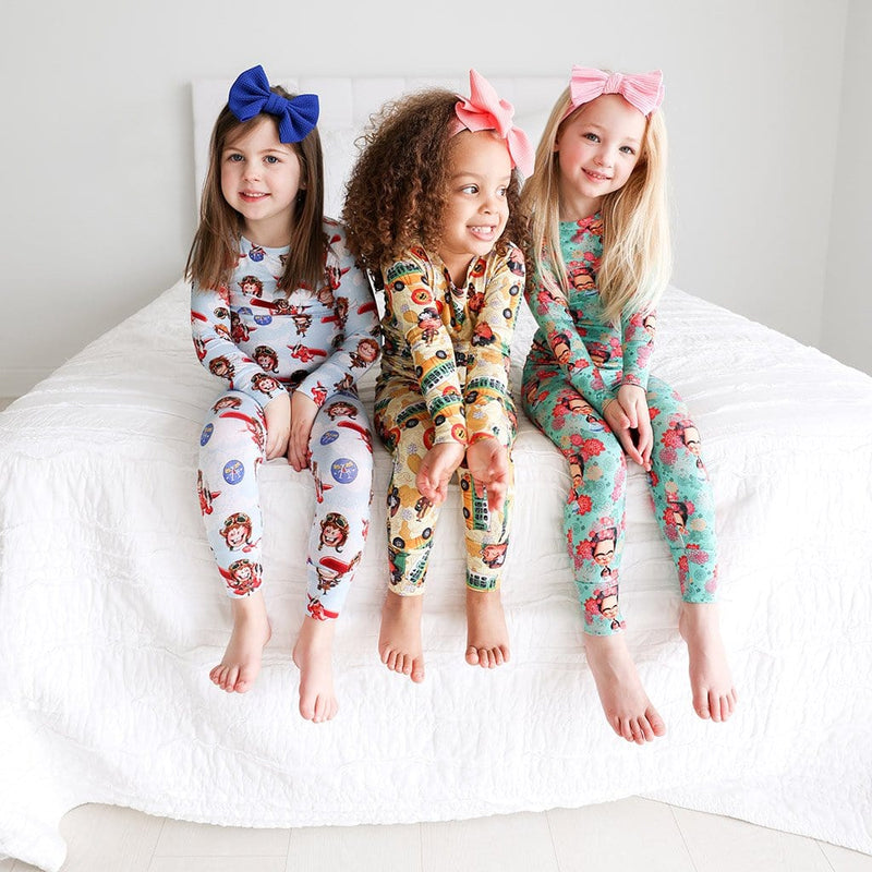 Toddlers on Amelia Earhart Long Sleeve Pajamas