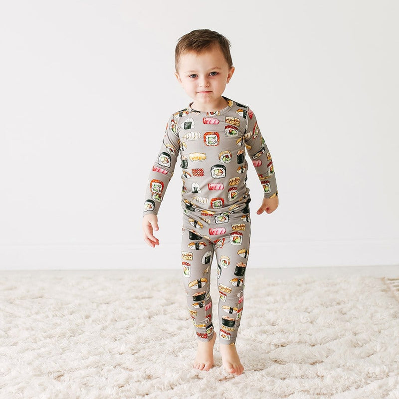 Sushi Mushi Long Sleeve Pajamas